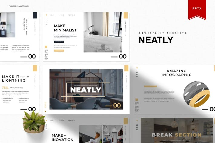 Thumbnail for Neatly | Powerpoint Template