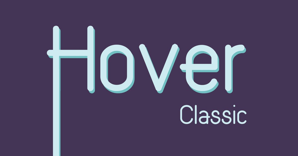 Download Hover Classic Extended Font by WildOnes