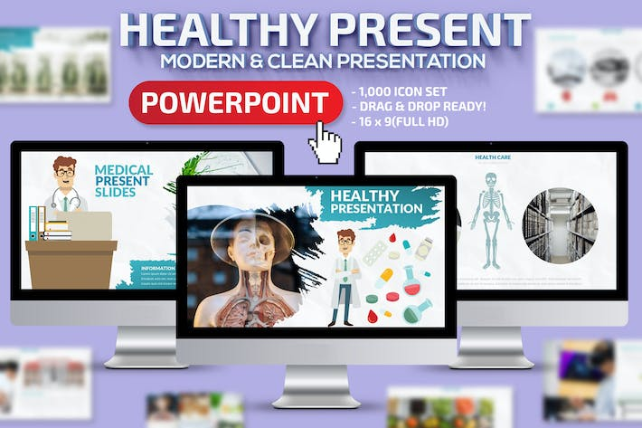 Thumbnail for Healthy Powerpoint Presentation