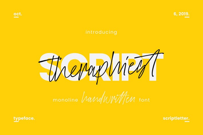 Thumbnail for Theraphiest Font