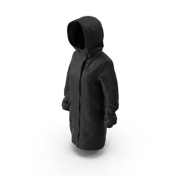 Thumbnail for Women's Down Jacket Black