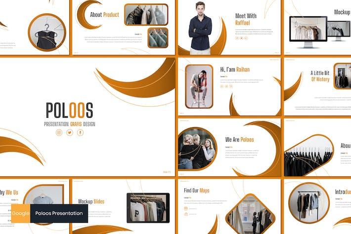 Thumbnail for Poloos - Fashion Google Slides Template