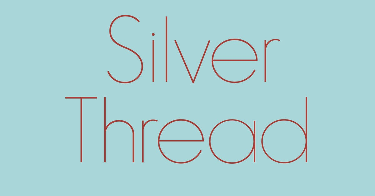 Download Silver Thread by WalcottFonts