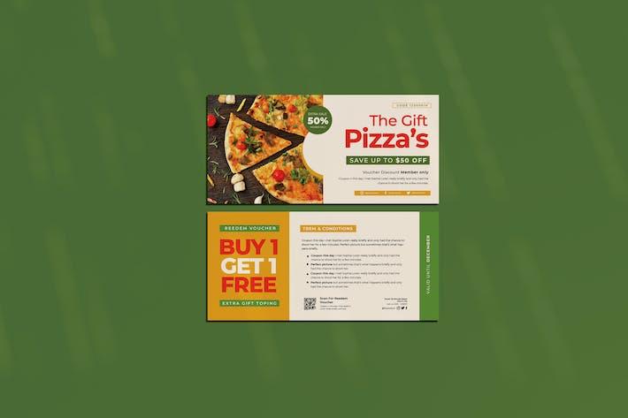 Le bon cadeau Pizza