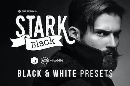 Stark Black - Dramatic Black & White Presets