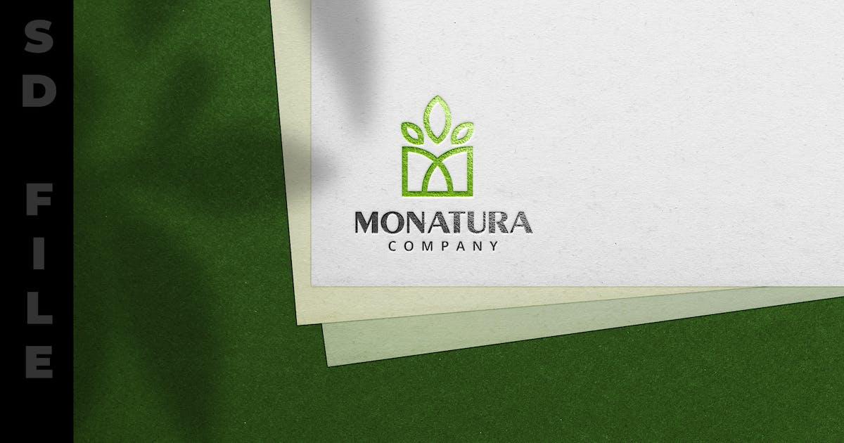 Download Stamp Logo Texture on Paper - Mockup by modaldesain