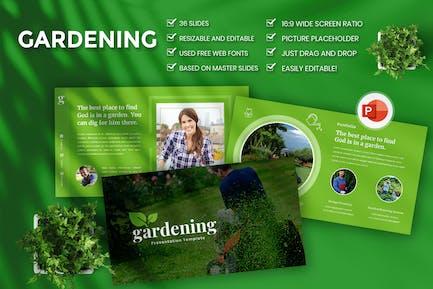 Gardening Presentation PowerPoint