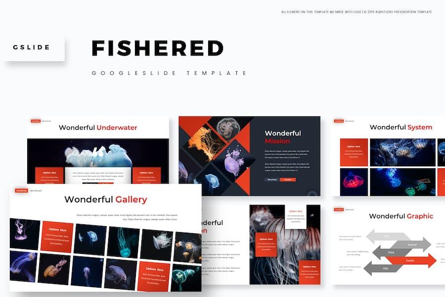 Fishered - Google Slides Template