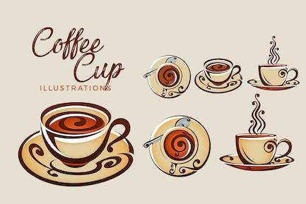 Decorative Coffee / Tea Cup