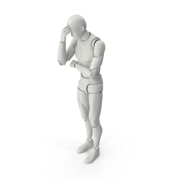 Posed Figure Facepalm