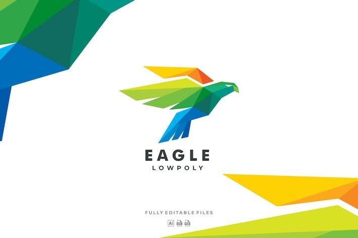 Thumbnail for Eagle Poly Colorful Logo