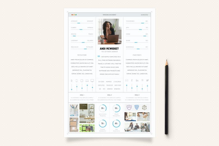 Thumbnail for UX Workflow - Persona Document - Volume 02