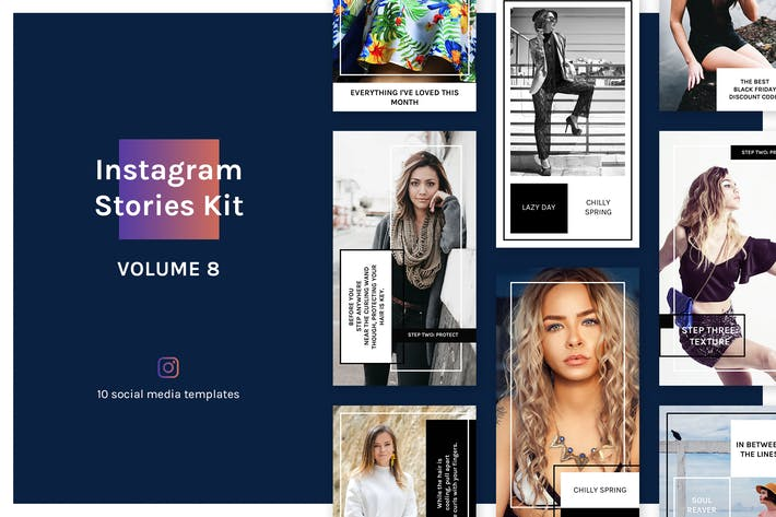 Thumbnail for Instagram Stories Kit (Vol.8)