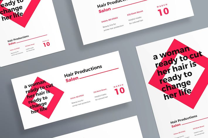 Hair Salon Flyer and Poster Template