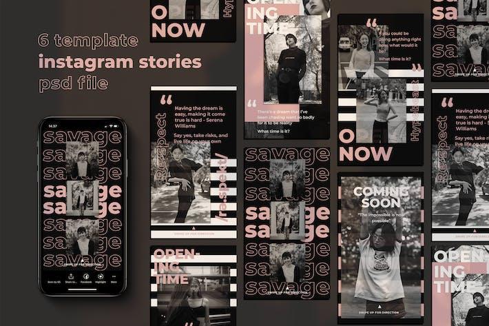 Thumbnail for Respect Instagram Stories