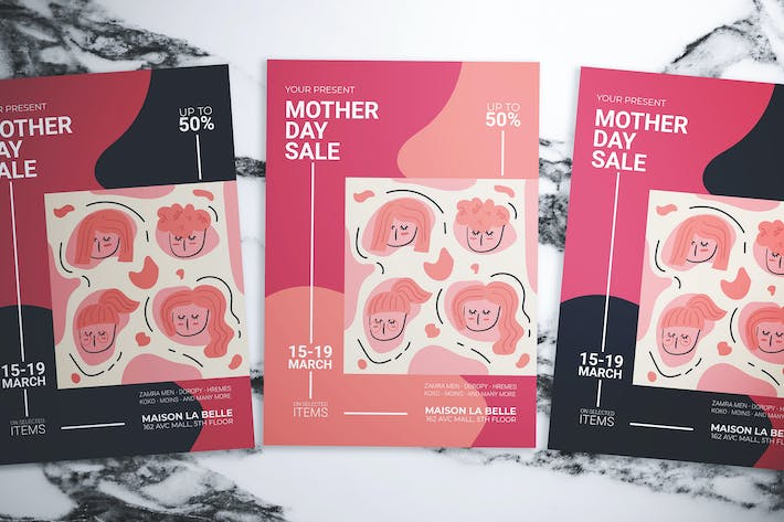 Thumbnail for Mother Day Sale Flyer
