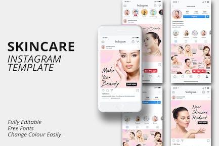 Skin Care Instagram Template v1 MS