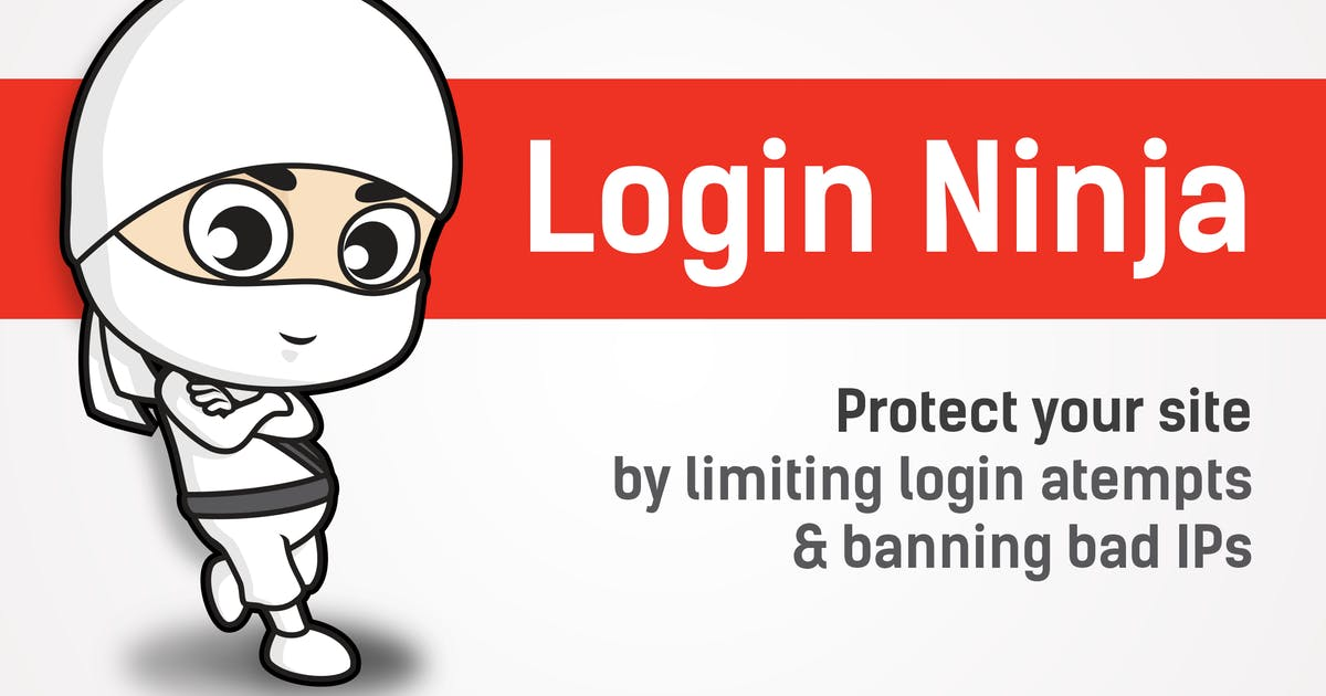 Download Login Ninja - Limit Login Attempts by WebFactory