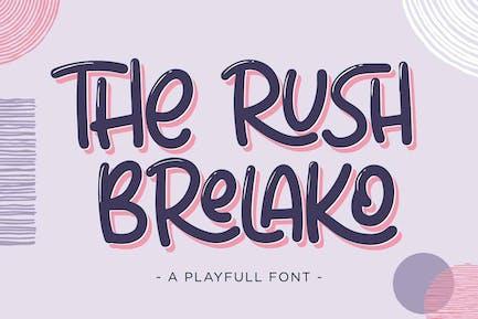 The Rush Brelako - Fuente de dibujos animados
