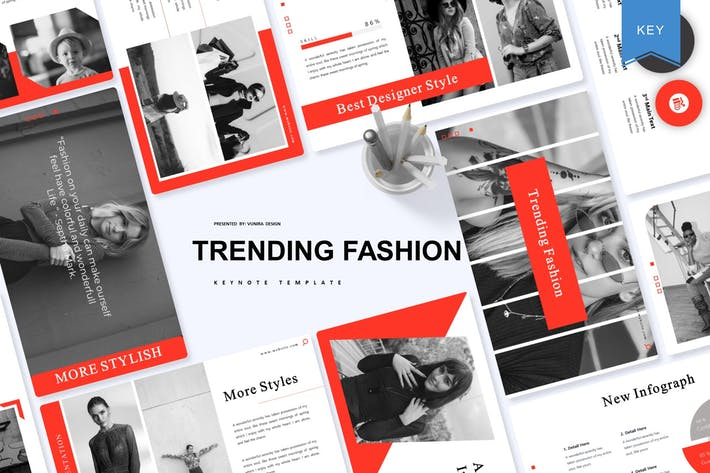 Thumbnail for Модная мода | Шаблон ключевых заметок
