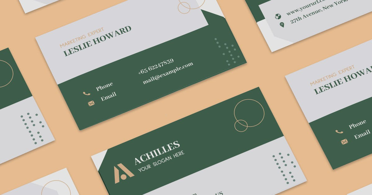 Architecture Interior Designer Business Card By 1protheme On Envato Elements