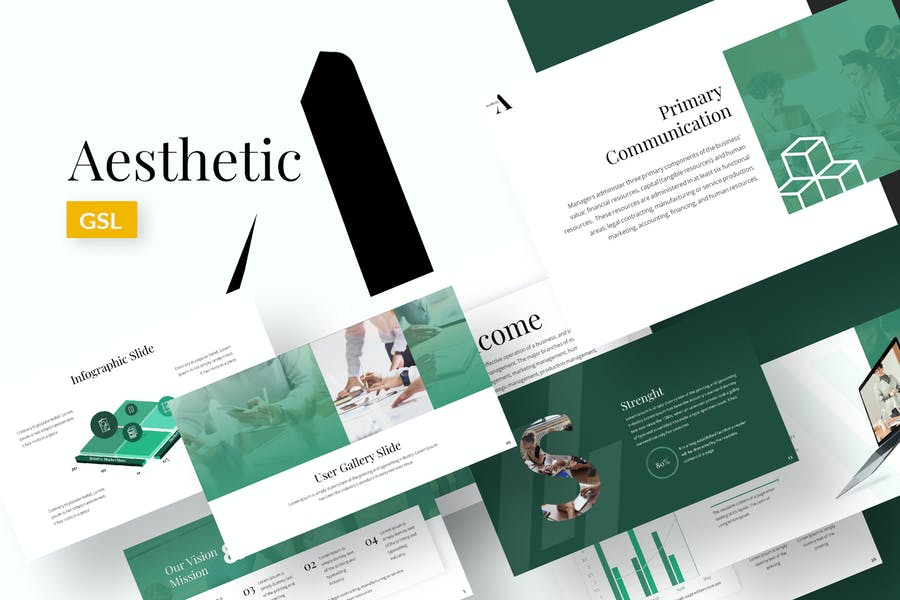 Aesthetic - Business Google Slides Template