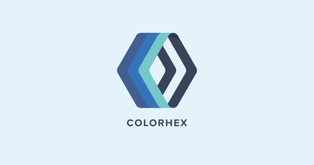 Download Color Hex Logo Template by MuseFrame