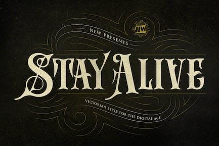 Stay Alive - Style victorien pour l'ère numérique