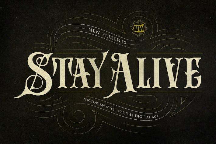 Thumbnail for Stay Alive - Victorian Style For Digital Age