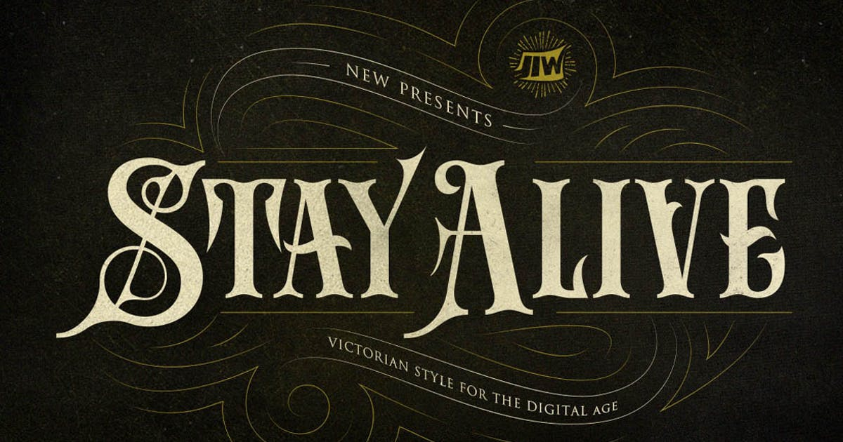 Download Stay Alive - Victorian Style For Digital Age by jiwstudio