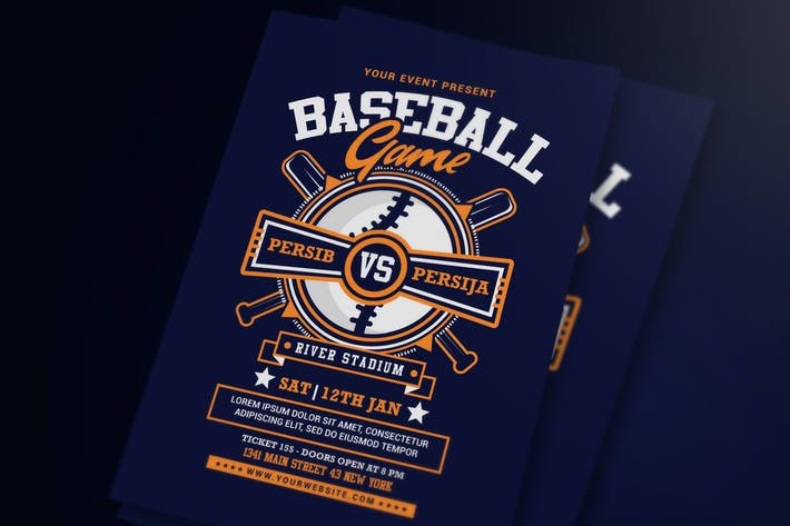 Thumbnail for Baseball Game Flyer