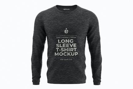 Long Sleeve T-Shirt Mockup Template
