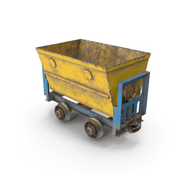 Шахтный вагон Пыльный