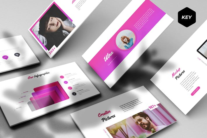 Thumbnail for Ulna - Keynote Template