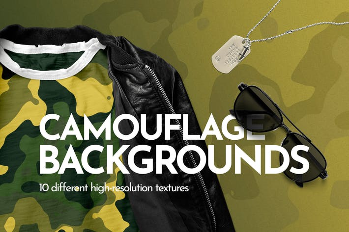 Thumbnail for Vector Camouflage Backgrounds