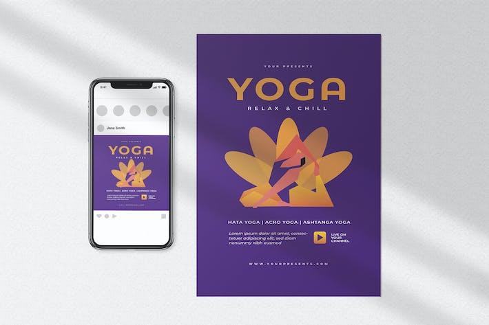 Thumbnail for Yoga Class Flyer