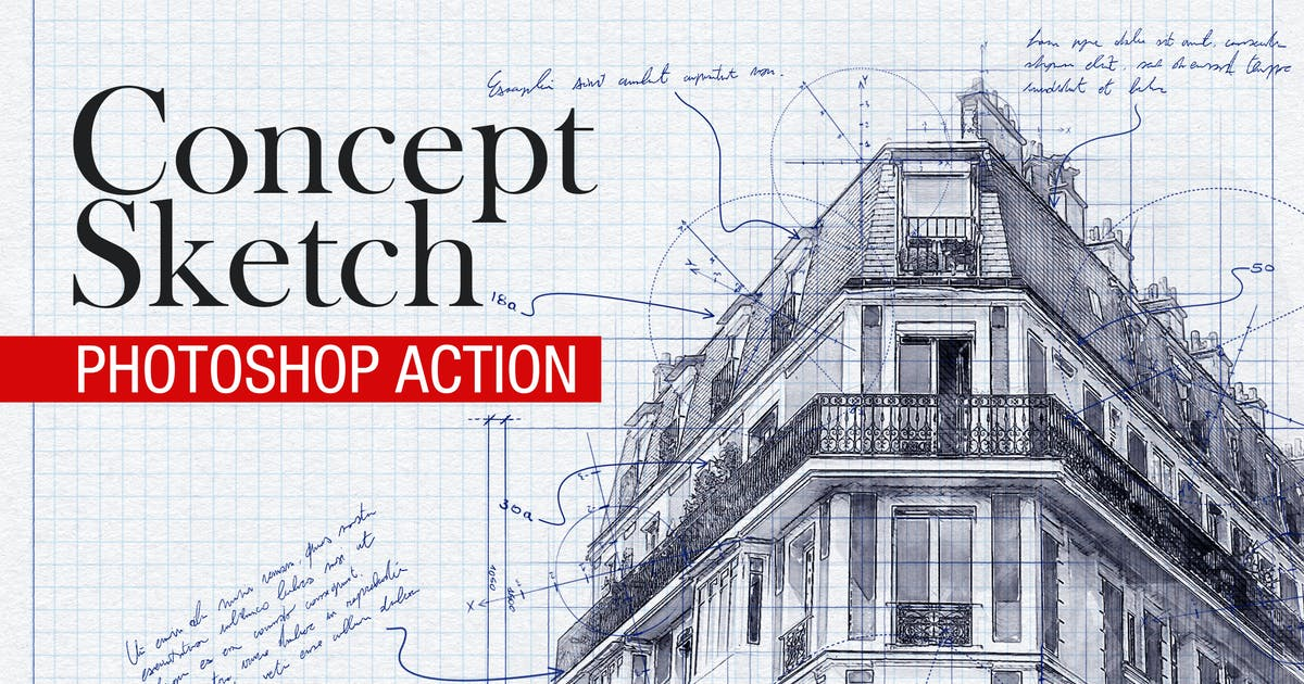 Download Concept Sketch - Photoshop Action by BlackNull