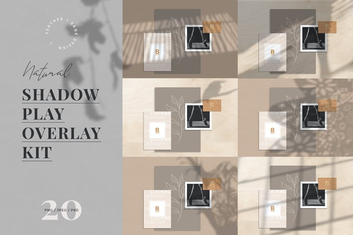 Thumbnail for Natural Shadow Play Overlay Kit