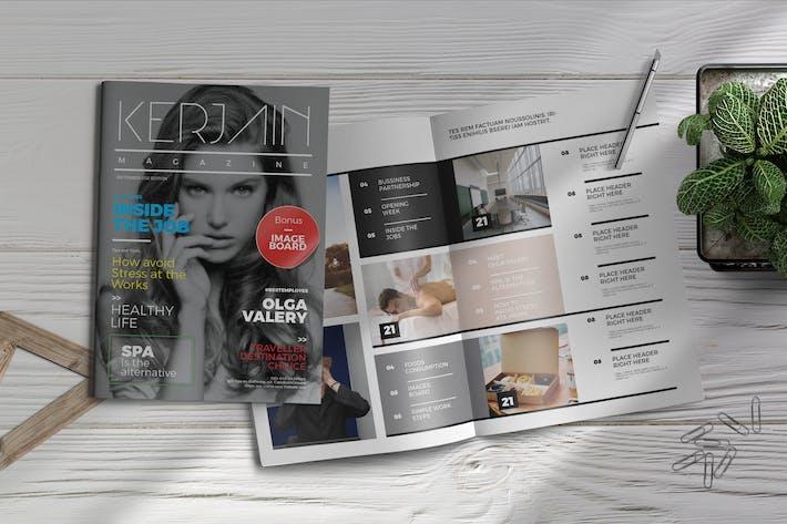 Thumbnail for Kerjain | Modèle de magazine