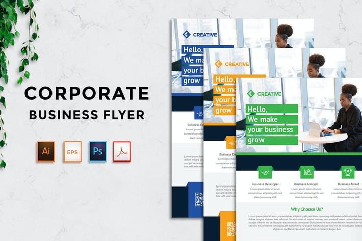 Thumbnail for Business Flyer v5 - [code YP]