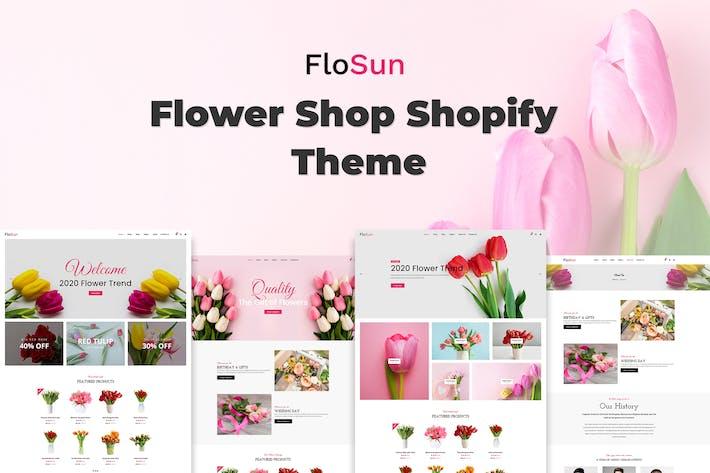 Flosun - Boutique de fleurs Thème Shopify