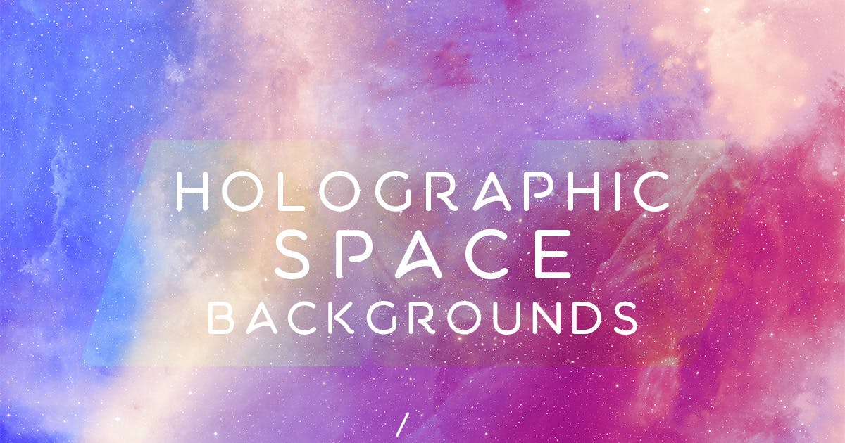 Download Holographic Space Backgrounds Vol.4 by FreezeronMedia