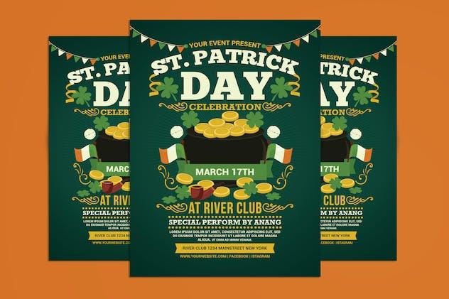 St. Patricks Day Celebration Flyer