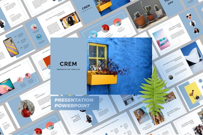 Thumbnail for Crem Creative Business Powerpoint