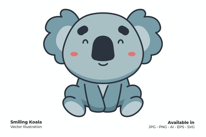 Lachender Koala