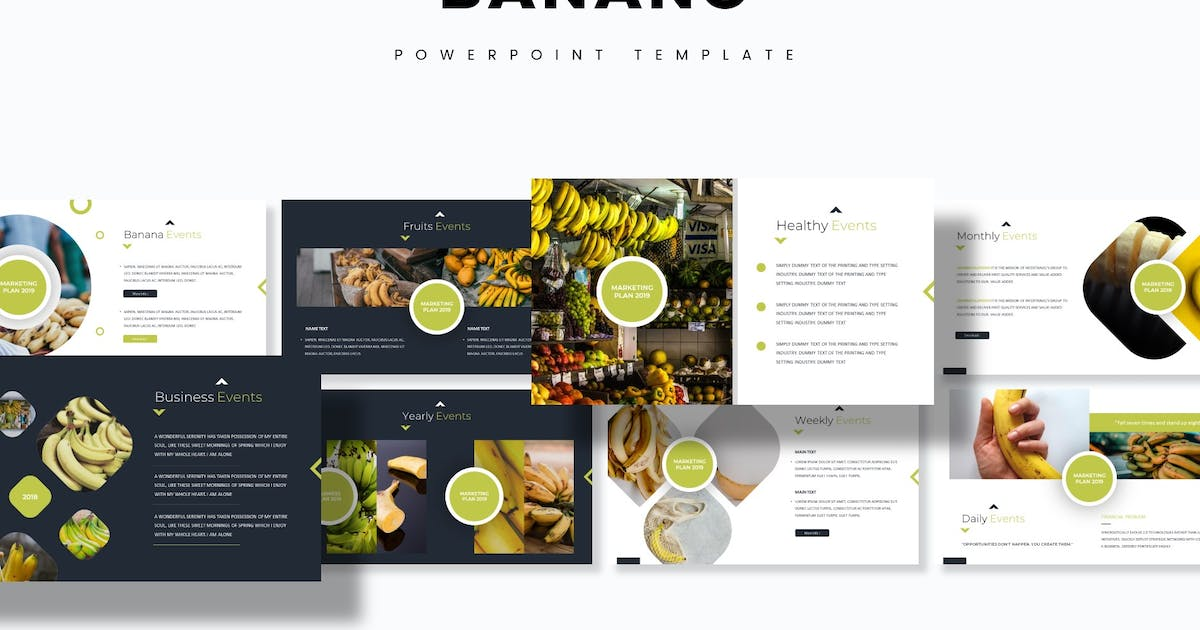 Download Banano - Powerpoint Template by aqrstudio