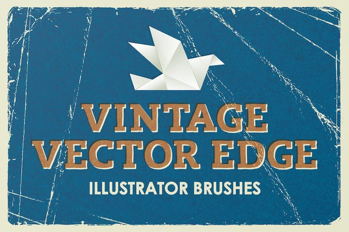 Cover Image For Vintage Vector Edge Brushes