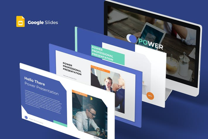 Cover Image For Power - Google Slides Template