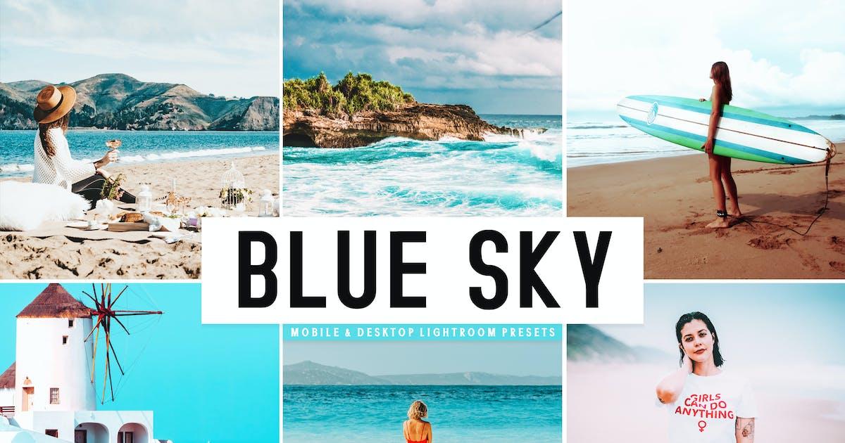 Download Blue Sky Mobile & Desktop Lightroom Presets by creativetacos