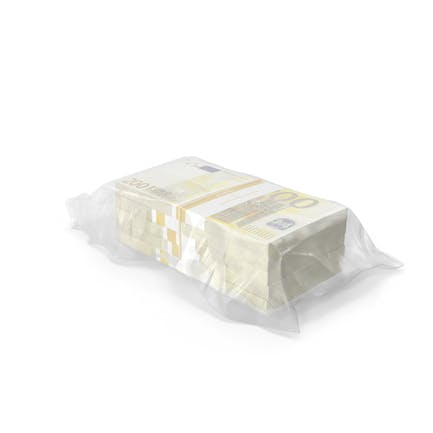 Wrapped Stack of Euros